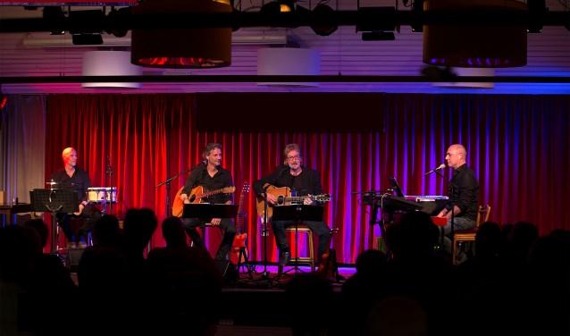 Kwartet met Joop Boxstart. Foto: PR