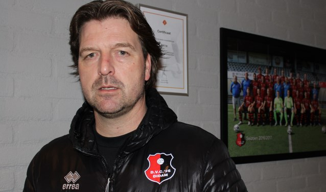 Edwin Hoogerdijk, de nieuwe hoofdtrainer van DVC`26.Foto: John van der Kamp