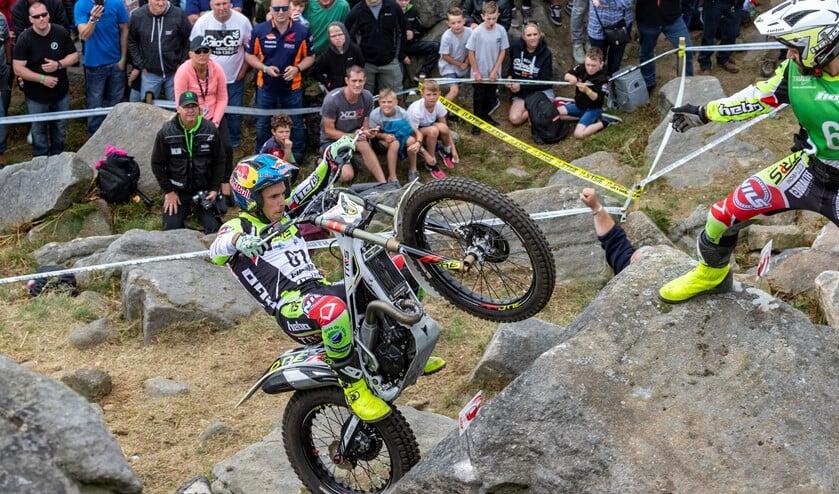 Deze spectaculaire motorsport 'ontdekken' kan al in aanloop naar het WK dat in juni in Zelhem wordt gehouden. Foto: Karel Branten