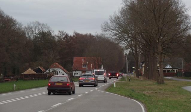 In het onderzoek is voornamelijk gekeken naar de herkenbaarheid van buurtschap Medler voor het verkeer dat op de N319 rijdt en het verbeteren van de omgevingskwaliteit van de buurtschap. Foto: Jan Hendriksen