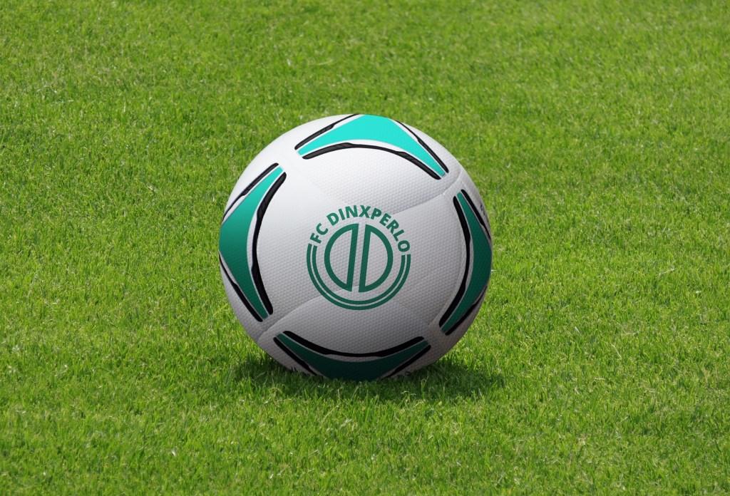 Het logo op een bal. Foto: PR  © Achterhoek Nieuws b.v.