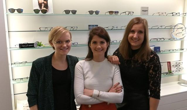 Het team van Bril In Mode Borculo. Foto: Rob Weeber
