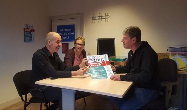 Van links naar rechts Jan Helmink, Marianne te Linde en Richard Jongetjes. Foto: Iris Jansen