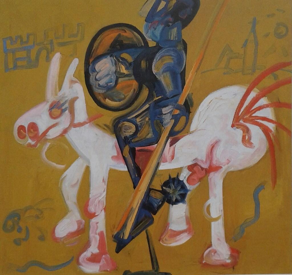 Don Quichot, 1980. Foto: Peter Cox  © Achterhoek Nieuws b.v.