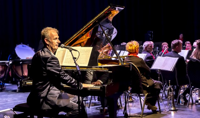 Cor Bakker met Excelsior in de DRU. Foto: Henk van Raaij