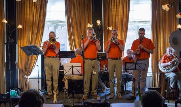 De Jurbena Jazzband. Foto: PR
