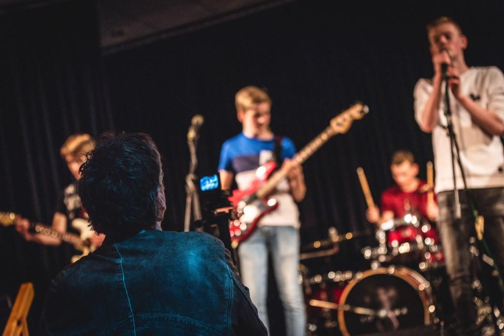 Paul van Druten maakte opnames van de band. Foto: Rick Mellink Foto: Rick Mellink © Achterhoek Nieuws b.v.