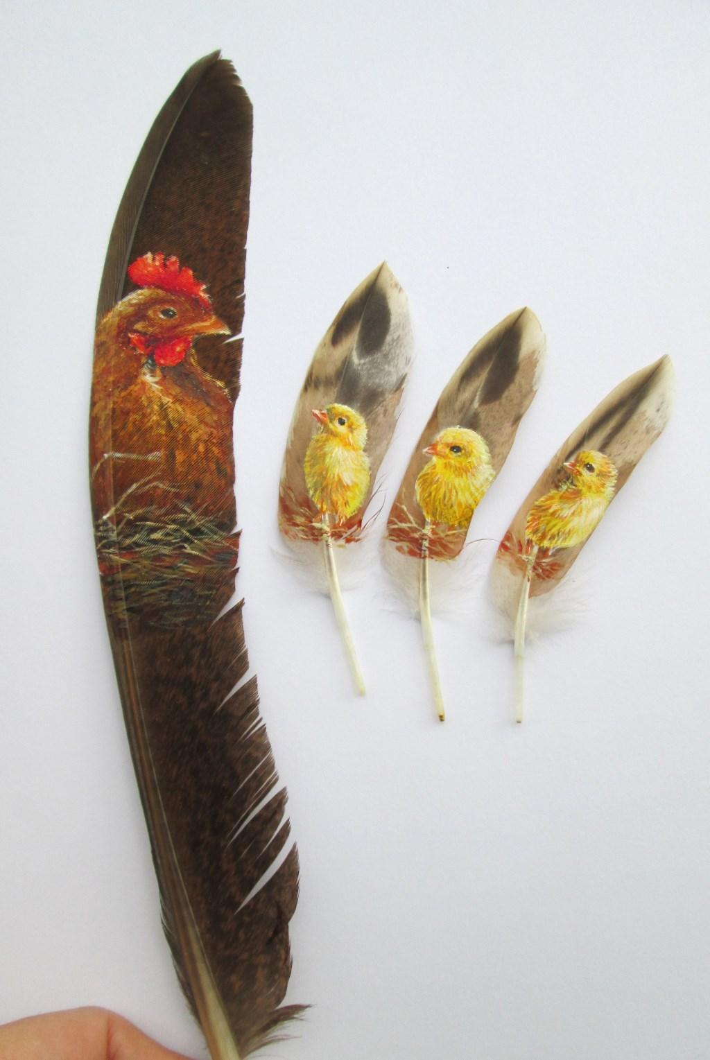 Beschilderde kippenveren. Foto: PR   © Achterhoek Nieuws b.v.