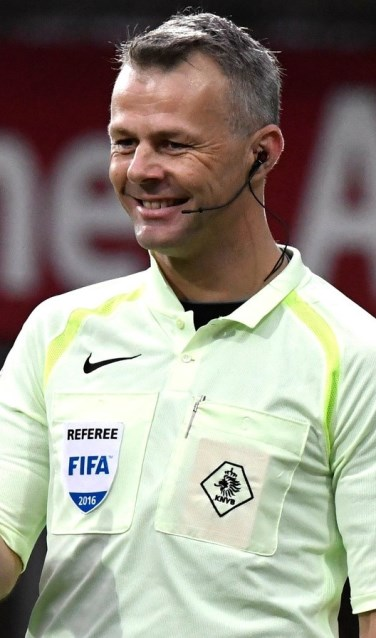 Topscheidsrechter Björn Kuipers. Foto: PR