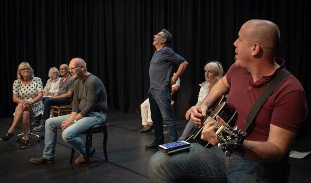 Theatervoorstelling 'Het einde van het Leven'. Foto: Charles Keijser Fotografie