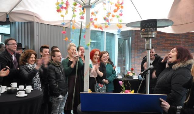 De officiële opening van de nieuwe Estinea-locatie aan de IJsselstraat in Doetinchem. Foto: PR