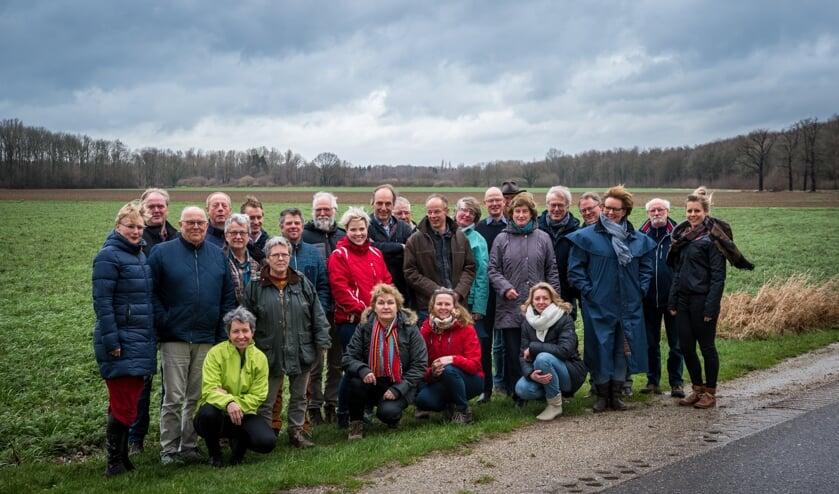 De recreatie- en horecaondernemers kwamen bij elkaar voor de eerste trainingsmiddag van 'Gastheer van het Landschap'. Foto: Rick Mellink