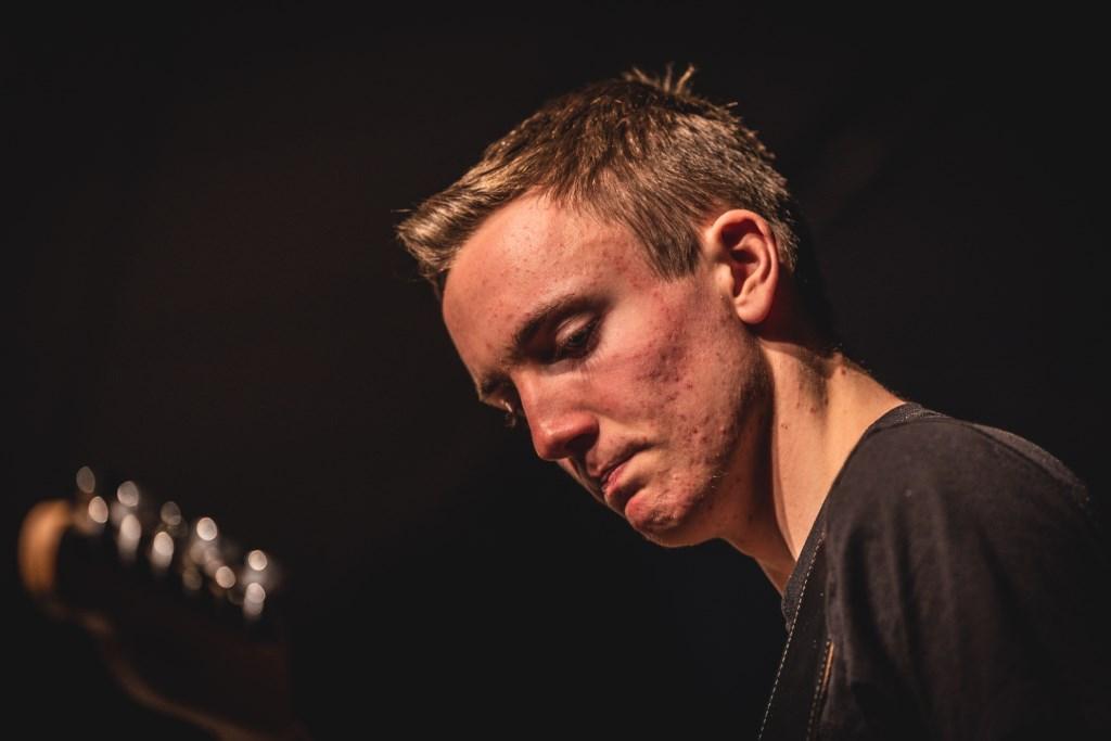 Opperste concentratie bij Connor Kluivers. Foto: Rick Mellink Foto: Rick Mellink © Achterhoek Nieuws b.v.