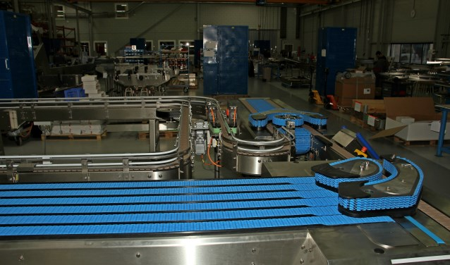 Het innovatieve Polyketting buffersysteem is tijdens de open dag in bedrijf. Foto: Liesbeth Spaansen
