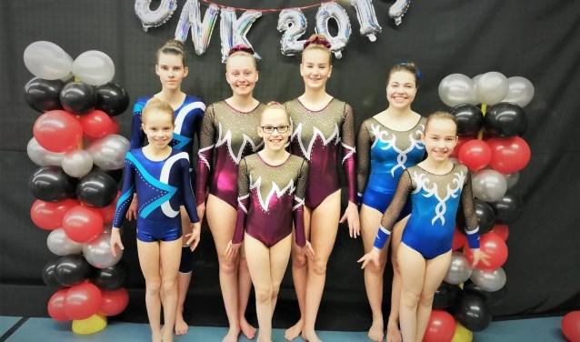 De die deelnemende teams van G.V. Borchlo. Foto: Corine Vrieze