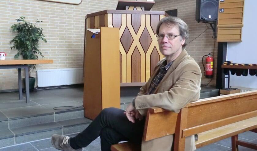Na ruim twintig jaar verlaat dominee Kees de Jong de christelijk gereformeerde kerk in Doetinchem. Foto: Walter Hobelman