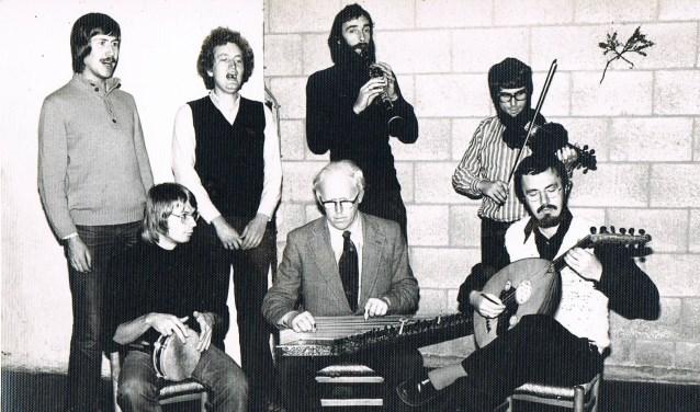 Ensemble Calgija in 1972. Foto: PR