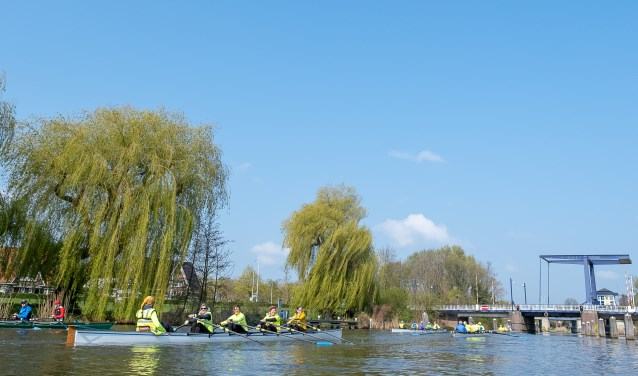 De Mosterdtocht gaat richting Doesburg. Foto: Burry van den Brink