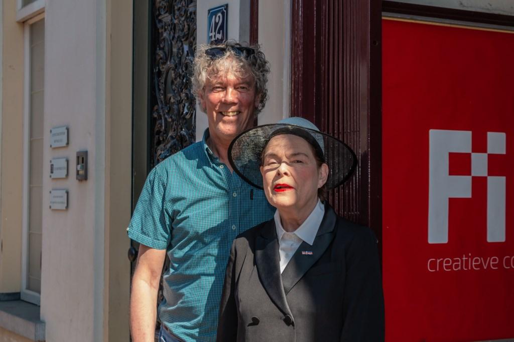 Hans Heesen en Karina Holla. Foto: Henk Derksen  © Achterhoek Nieuws b.v.