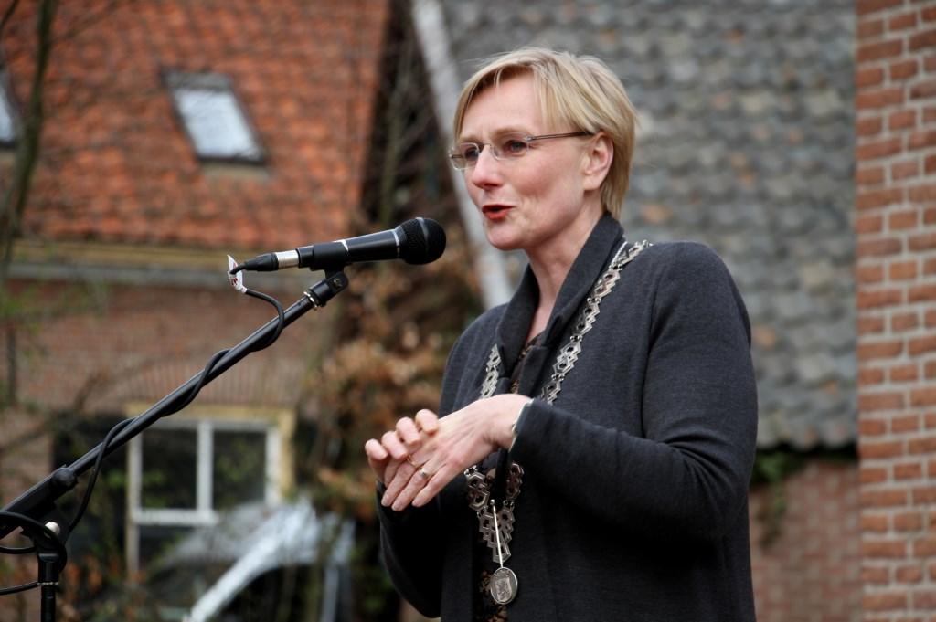 Burgemeester Marianne Besselink. Foto: Liesbeth Spaansen  © Achterhoek Nieuws b.v.