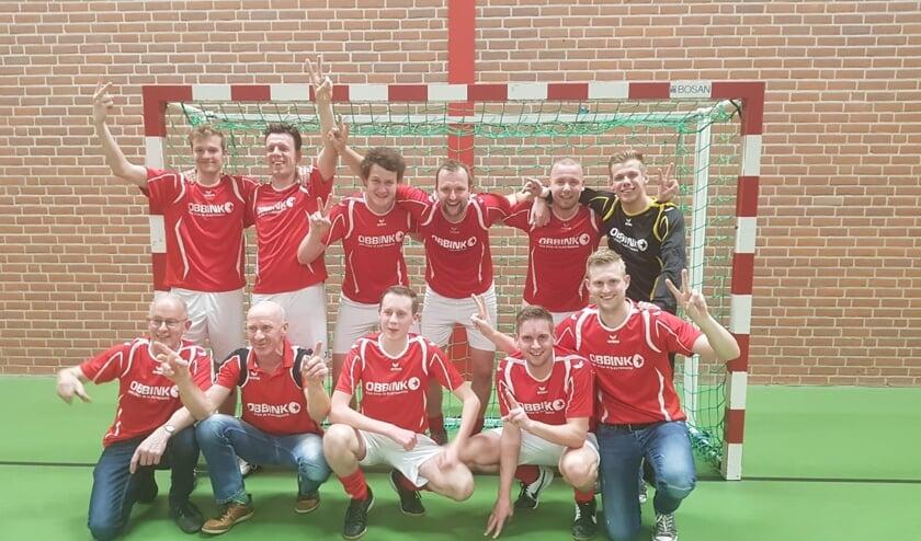 De Treffers: Paklack-kampioen 2018-2019. Foto: PR