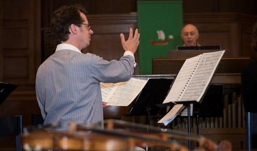 Michiel Meijer zingt bas-aria's tijdens de Matthäus Passion in Zieuwent. Foto: PR