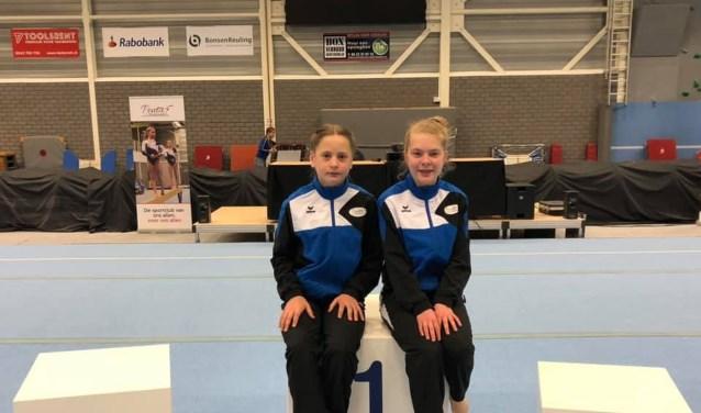 Pleun Elsinghorst en Lynn Schreurs. Foto:  PR Penta Winterswijk