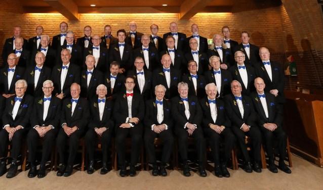 Het Christelijk Mannenkoor Scheveningen. Foto: PR