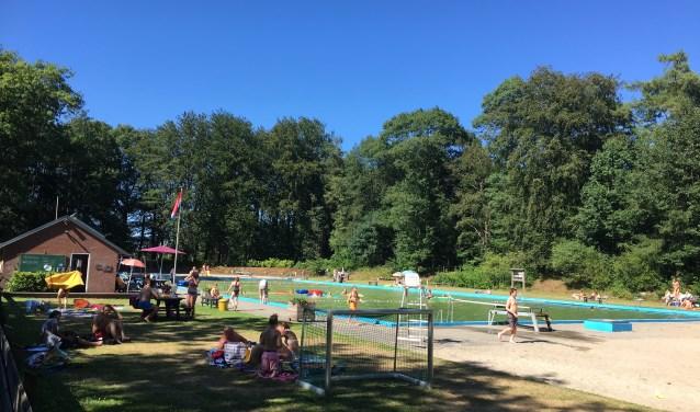 Het natuurbad Rekken gat weer open voor het publiek. Foto: PR