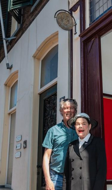 Hans Heesen en Karina Holla. Foto: Henk Derksen