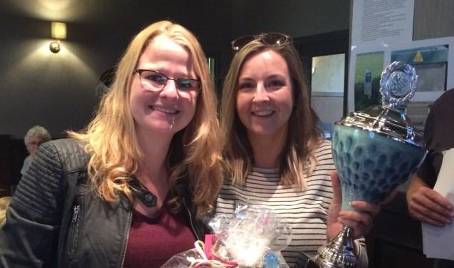 Mendy en Sophie, de winnaars van 2018.  Foto: organisatie Heel Harreveld on Wheels