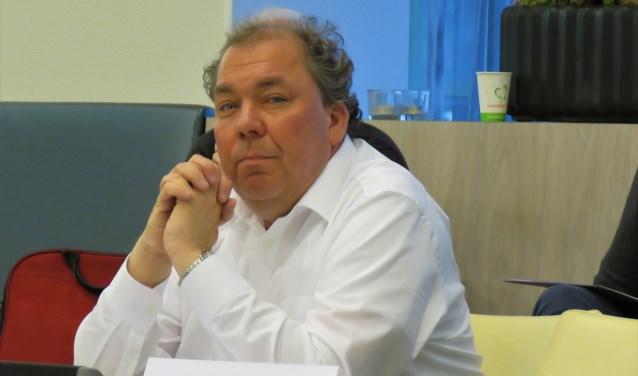 Graafschap-directeur Hans Martijn Ostendorp sprak in tijdens de gemeenteraadsvergadering. Foto: Bert Vinkenborg