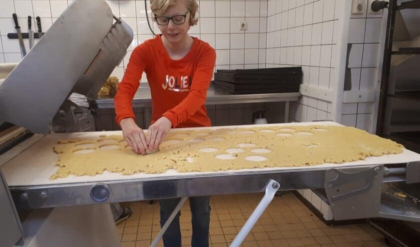 Prokkelen bij de bakker. Foto: PR