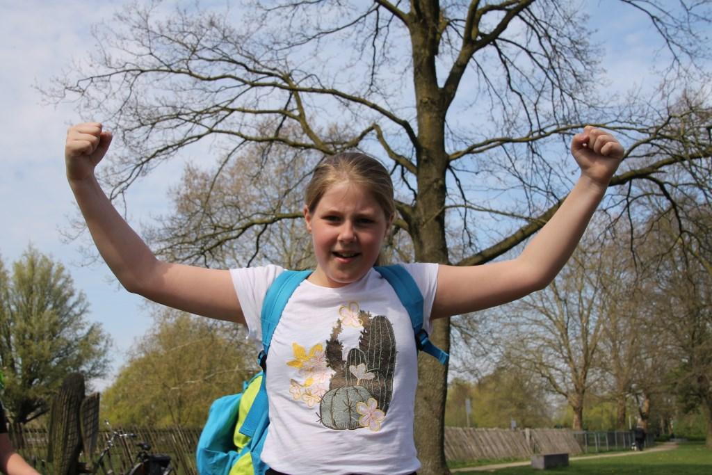 Yesss! We did it! Foto: Annekée Cuppers  © Achterhoek Nieuws b.v.