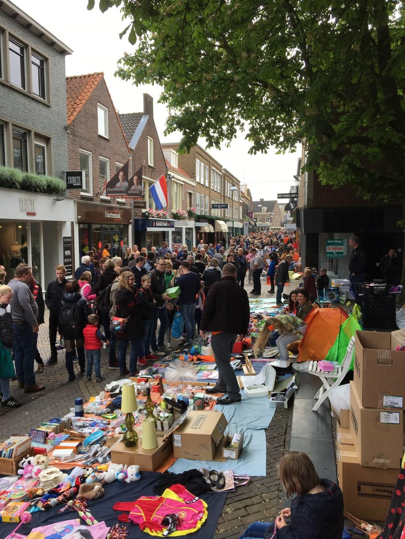 Vrijmarkt op Koningsdag. Foto: PR  © Achterhoek Nieuws b.v.