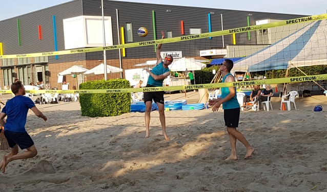 Het 'Marvo-strand' bij de BMV. Foto: PR
