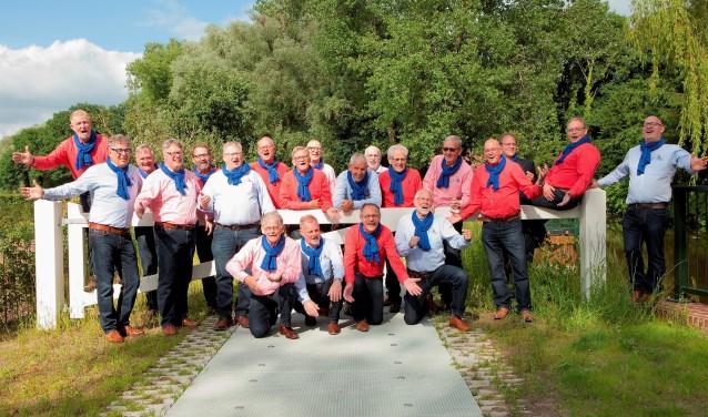 The Greyhound Barbershopsingers uit Winterswijk te gast bij het jaarconcert van Inter Nos. Foto: PR