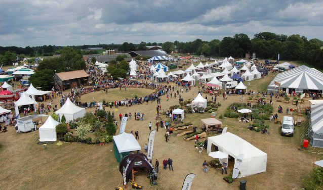 De Farm & Country Fair in vogelvlucht. Foto: PR