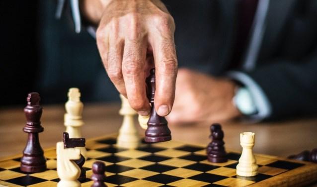 Iedereen is welkom voor een potje schaak. Foto: PR