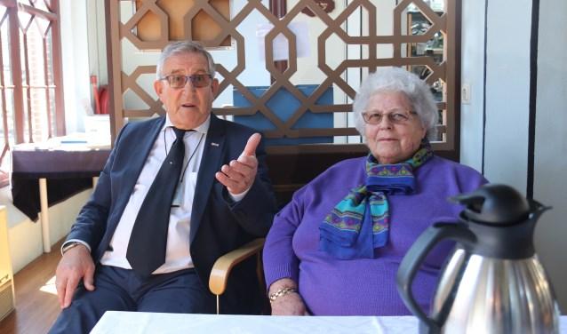 Fred en Nanny Senator in 'hun' sjoel. Foto: Vlinderwerk