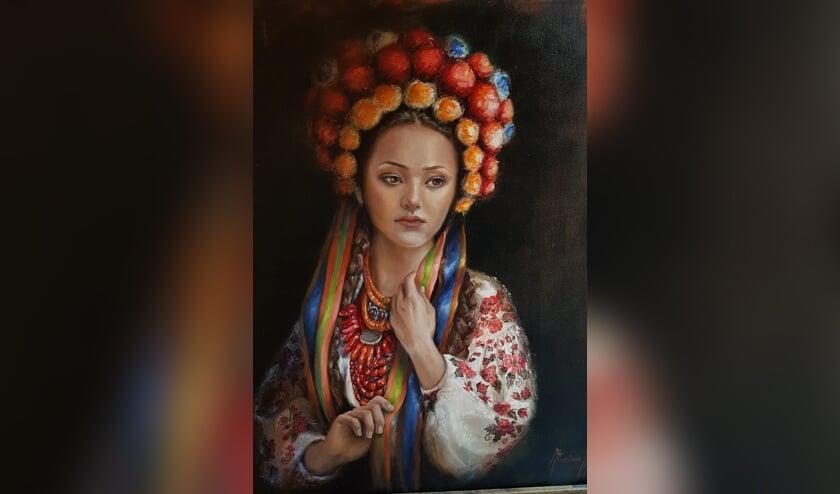 Schilderij van Marian Merk. Foto: PR