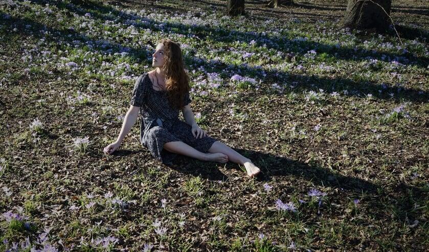 Actrice Noralie Jansen van Theater Nora. Foto: PR