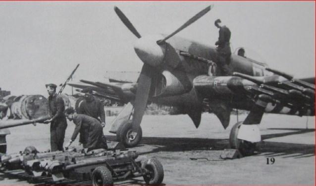 Een Hawker Typhoon. Foto: PR