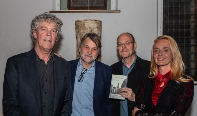 V.l.n.r.: Hans Heesen, Bert Natter, Auke Leistra en Karin de Haan. Foto: Henk Derksen