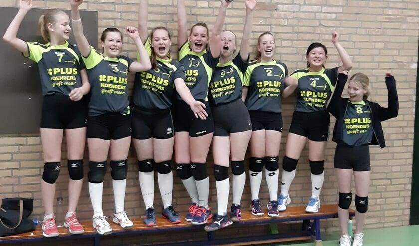 Het kampioensteam van Boemerang. Foto: Carolien Gierkink