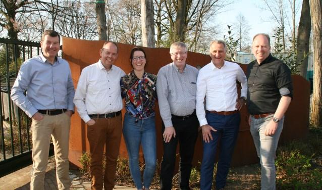 Organisatie BU: Marleen Kosterink, Laurens Stapelbroek en Rob Weeber, en de jury: Harry Niemeijer, Henk Deunk en Peter Stoverink. Foto: Jos Stapelbroek