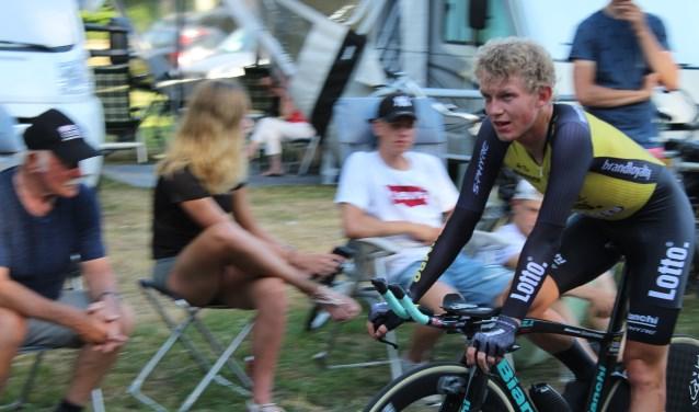 De Ulftse wielerprof Koen Bouwman leerde de fijne kneepjes van het wielrennen al van Theo Overbeek. Archieffoto: Susan Wiendels