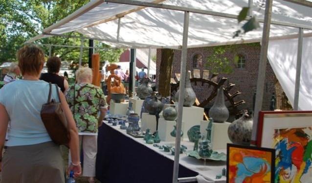 Kunstmarkt bij Berenschot's Mölle. Foto: PR