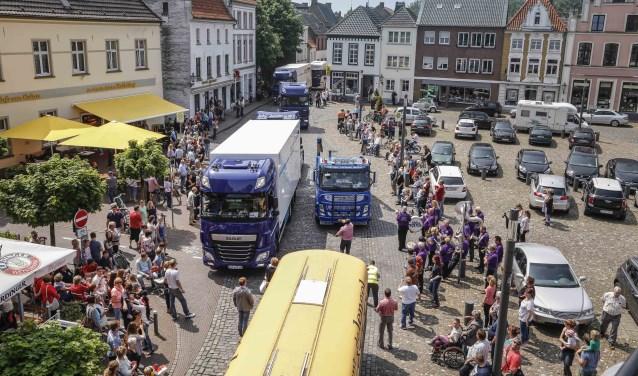 De vorige edities van Wunderland Kalkar on Wheels trokken steevast veel bekijks. Foto: PR