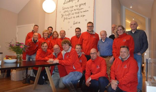 Achterhoekrunners maakten kennis met  inloophuis Oude IJssel. Foto: PR
